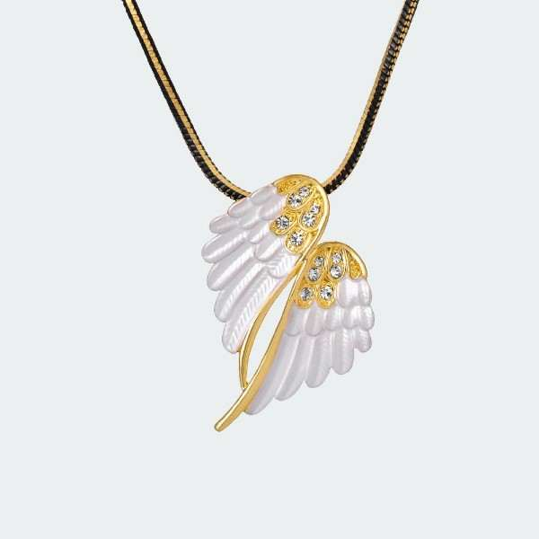 Fashion Stories Resurrected Angel Necklace